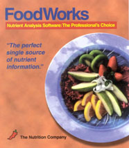 foodworks 14 windows nutrition software